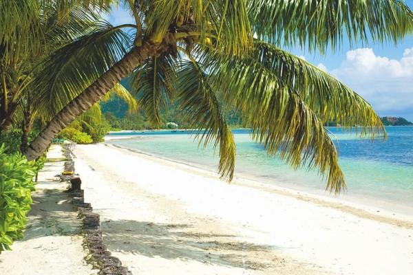 Plage - Combiné hôtels 2 Îles : Praslin Indian Ocean Lodge + Mahé Avani Seychelles Barbaron Praslin Seychelles