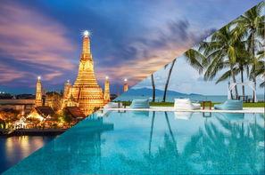 Thailande-Bangkok, Combiné hôtels - Court séjour Bangkok & Koh Samui au Samui Palm Beach
