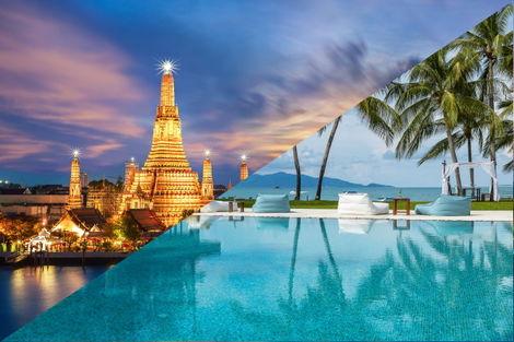 Thailande-Combiné hôtels - Court séjour Bangkok & Koh Samui au Samui Palm Beach 4*