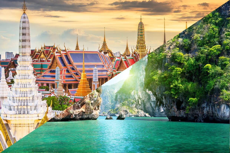 (fictif) - Combiné hôtels - Court séjour Bangkok & Phuket à l'Andaman Seaview 4* Bangkok Thailande