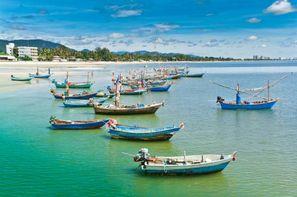 Thailande-Bangkok, Combiné hôtels FRAM Bangkok et plage de Hua Hin