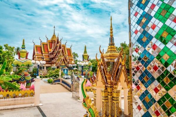 Monument - Combiné hôtels - Court séjour Bangkok & Koh Samui au Am Samui Palace 4* Bangkok Thailande