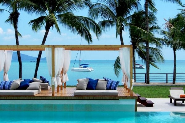 Piscine - Combiné hôtels - Court séjour Bangkok & Koh Samui au Samui Palm Beach 4* Bangkok Thailande