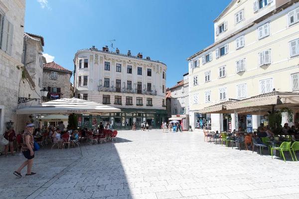 Facade - Central Square Heritage Hotel 4* Split Croatie