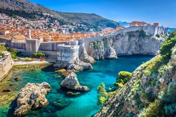 Plage - Croisière De criques en iles Dubrovnik Croatie