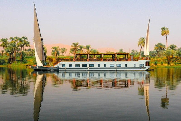 Bateau - Croisière Dahabeya Samara Louxor Egypte