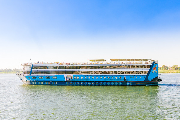 Bateau Magic - Sur le Nil (sans visite)