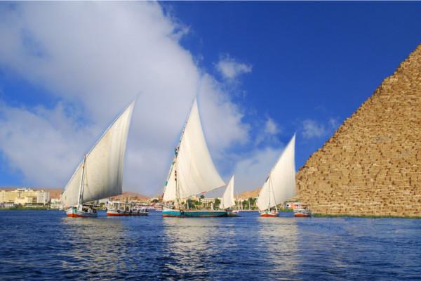 Felouques - Sur le Nil AI