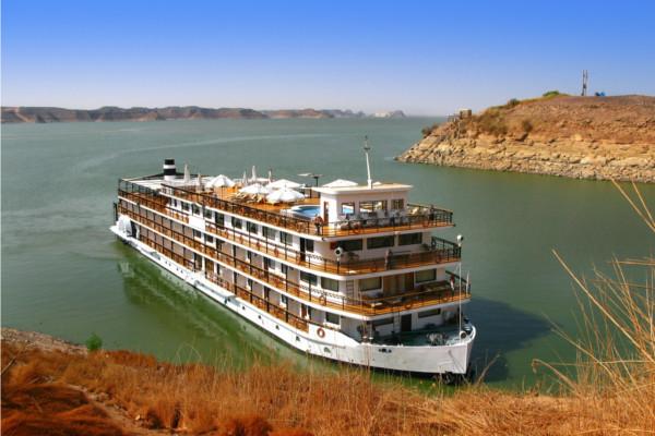 Bateau de croisière - Sur le Nil Sans Excursions