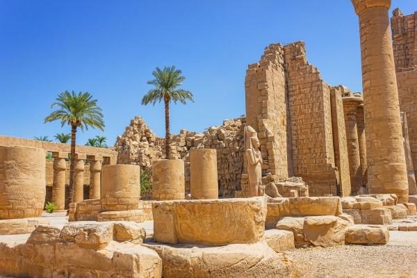 Ruines du temple Karnak