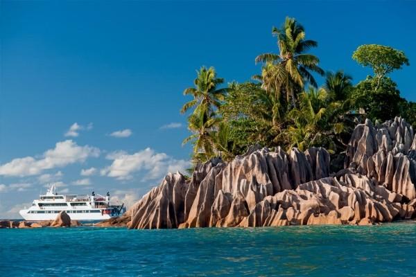 Vue panoramique - Croisière Croisière Le Jardin d'Eden Mahe Seychelles