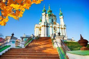 Ukraine-Kiev, Croisière Croisière fluviale en Ukraine : le Dniepr des cosaques