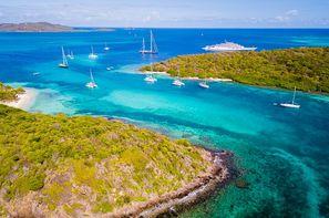 Vacances Fort De France: Croisière Grenadines + séjours à Union et Ste Lucie