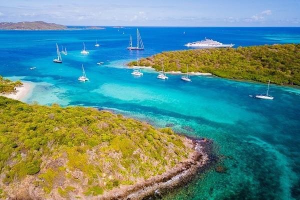 Nature - Croisière Grenadines + séjours à Union et Ste Lucie Fort De France Martinique
