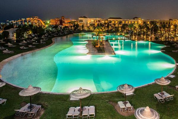 Facade - Jaz Aquamarine 5* Hurghada Egypte