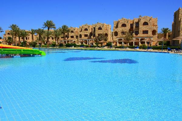 Facade - Royal Lagoons Resort Hurghada Egypte