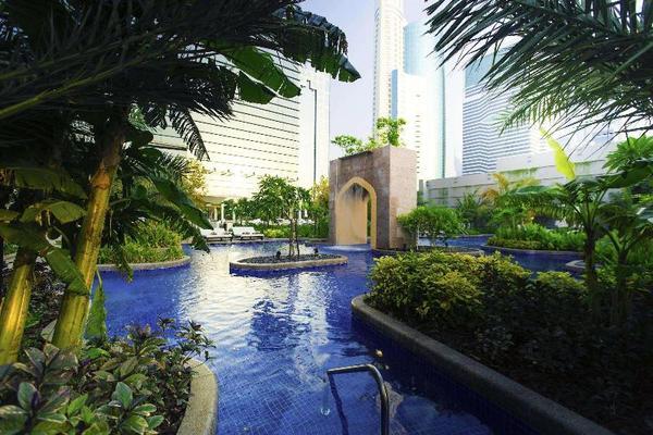Piscine - Conrad Dubai 5* Dubai Dubai et les Emirats
