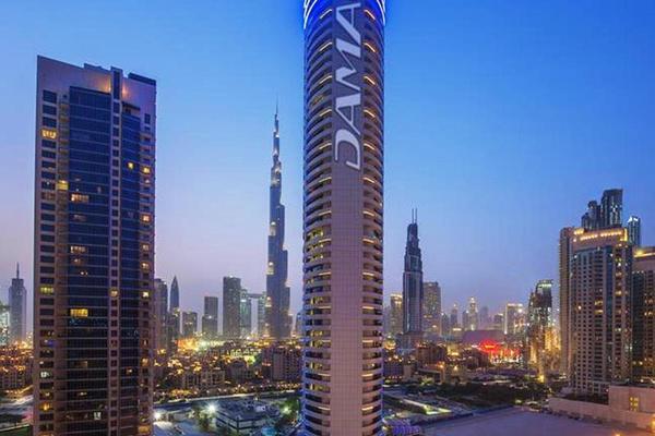 Facade - Damac Maison Royale The Distinction 5* Dubai Dubai et les Emirats