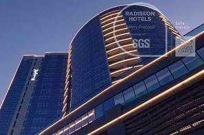 Dubai et les Emirats-Dubai, Hôtel Radisson Blu Hotel Dubai Waterfront