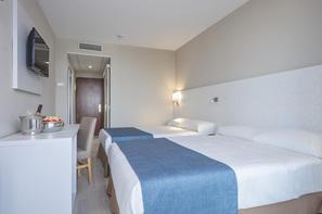 Espagne-Barcelone, Hôtel Mediterraneo