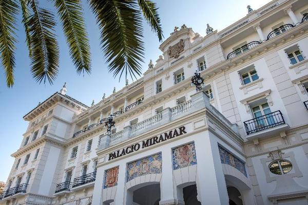 Facade - Gran Hotel Miramar 5* Malaga Andalousie