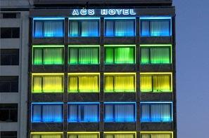 Grèce : Les Cyclades-Ile d'Andros, Hôtel Athens Center Square
