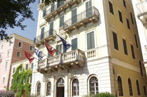 Grece-Corfou, Hôtel Cavalieri