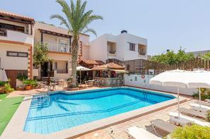 Crète-Heraklion, Hôtel Galini