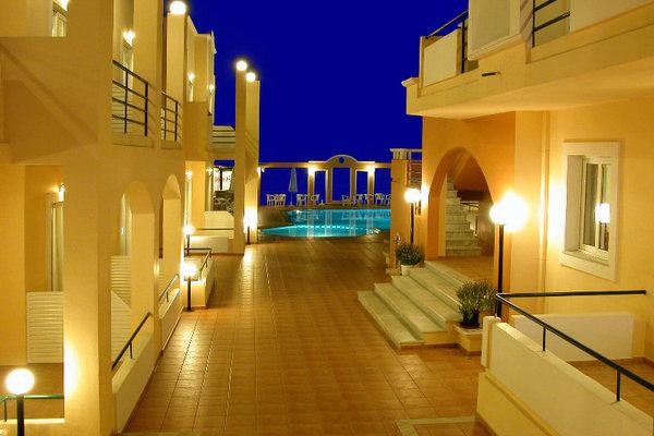 Facade - Nontas Hotel Apartments 3* Heraklion Crète