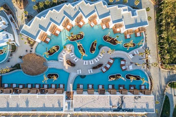 Facade - Stella Island 5* Heraklion Crète