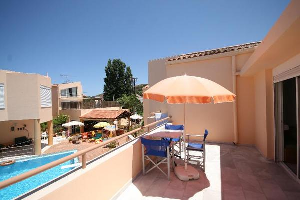 Terrasse - Elma's Dream Apartments 3*