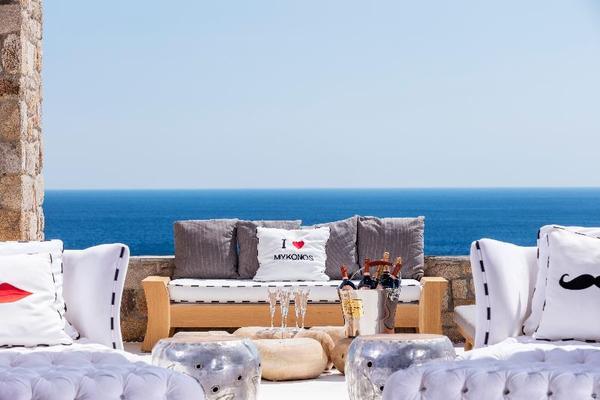 Facade - Myconian Imperial Hotel And Thalasso Center 5* Mykonos Grece
