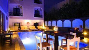 Grece-Santorin, Hôtel Anny Studios Perissa Beach