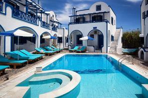 Grece-Santorin, Hôtel Roula Villa