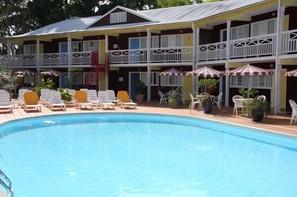Guadeloupe-Pointe A Pitre, Hôtel La Maison Créole