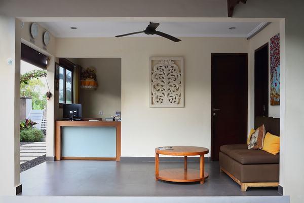 Reception - The Canggu Boutique Villas & Spa 4* Denpasar Bali