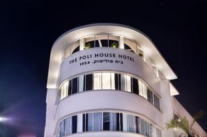 Israel-Tel Aviv, Hôtel The Poli House