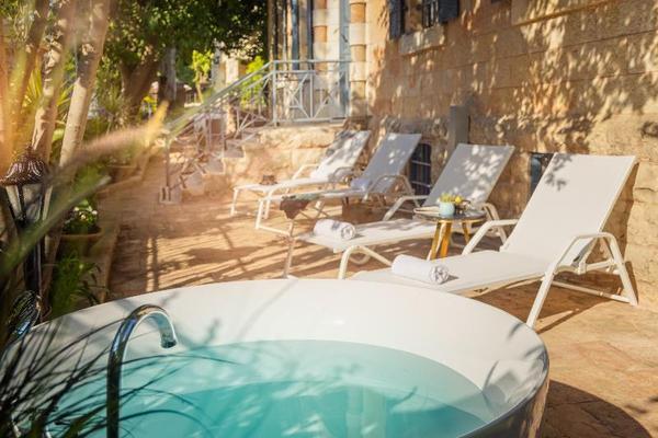 Terrasse - Villa Ba'moshava Boutique Hotel Jerusalem Israel
