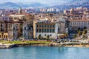 Sicile et Italie du Sud-Palerme, Hôtel Jardin De France