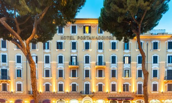 Facade - Portamaggiore 3* Rome Italie