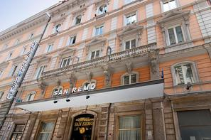 Italie-Rome, Hôtel San Remo