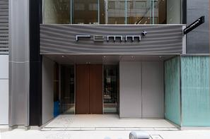 Japon-Tokyo, Hôtel Remm Plus Ginza