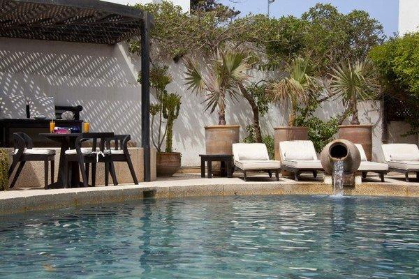 Piscine - Ocean Vagabond 4* Essaouira Maroc