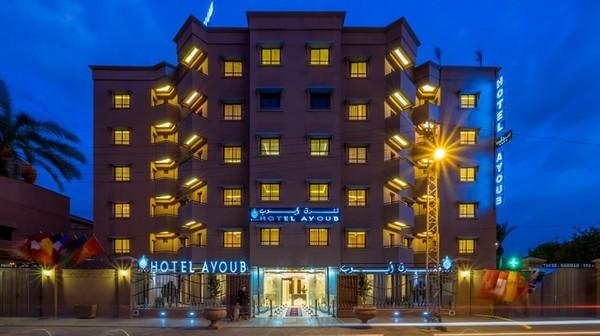 Facade - Ayoub Hotel & Spa 4* Marrakech Maroc