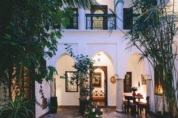 Facade - Dar Zaman 4* Marrakech Maroc