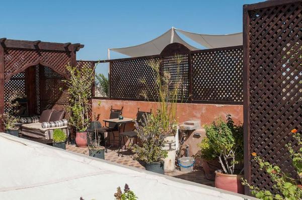 Terrasse - La Maison Nomade 3* Marrakech Maroc