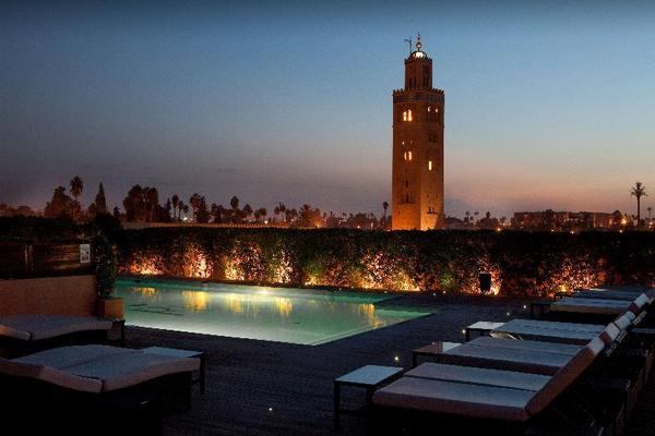 Facade - Les Jardins De La Koutoubia 5* Marrakech Maroc