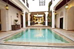 Maroc-Marrakech, Hôtel Riad Aladdin