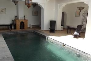 Maroc-Marrakech, Hôtel Riad Dar Bounouar