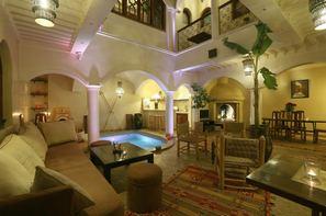 Maroc-Marrakech, Hôtel Riad L'emir